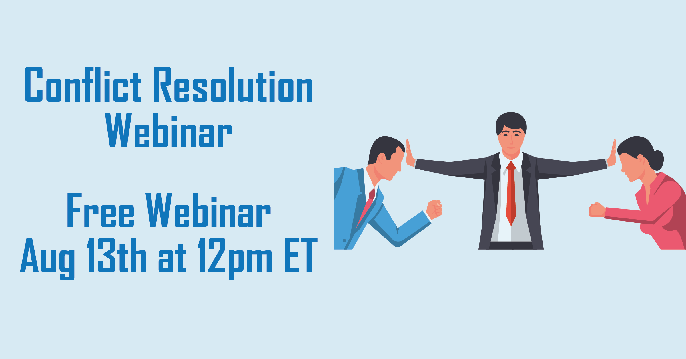 Conflict Resolution Webinar