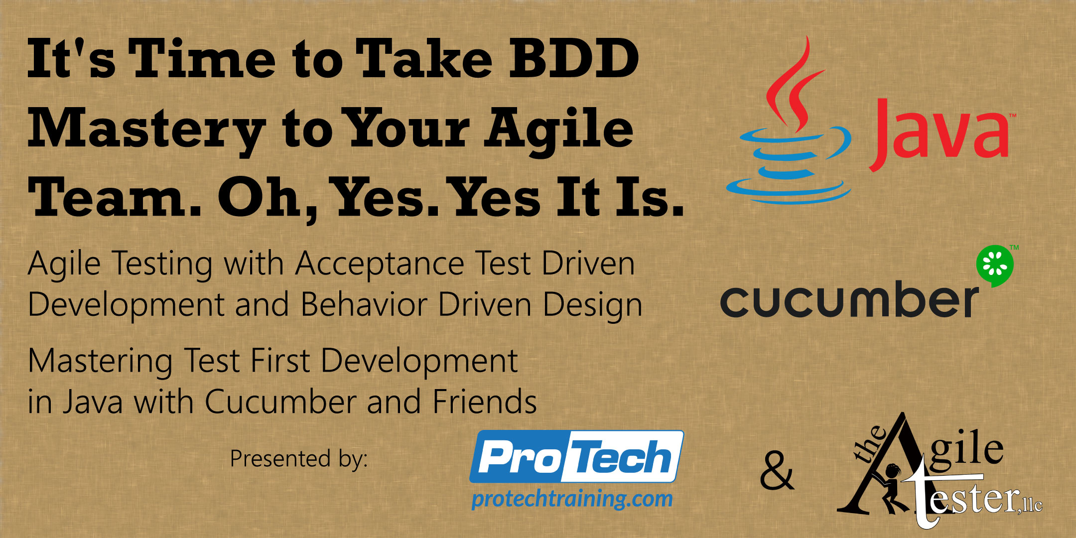 It's Time to Take BDD Mastery to Your Agile Team. Oh Yes. Yes It Is.