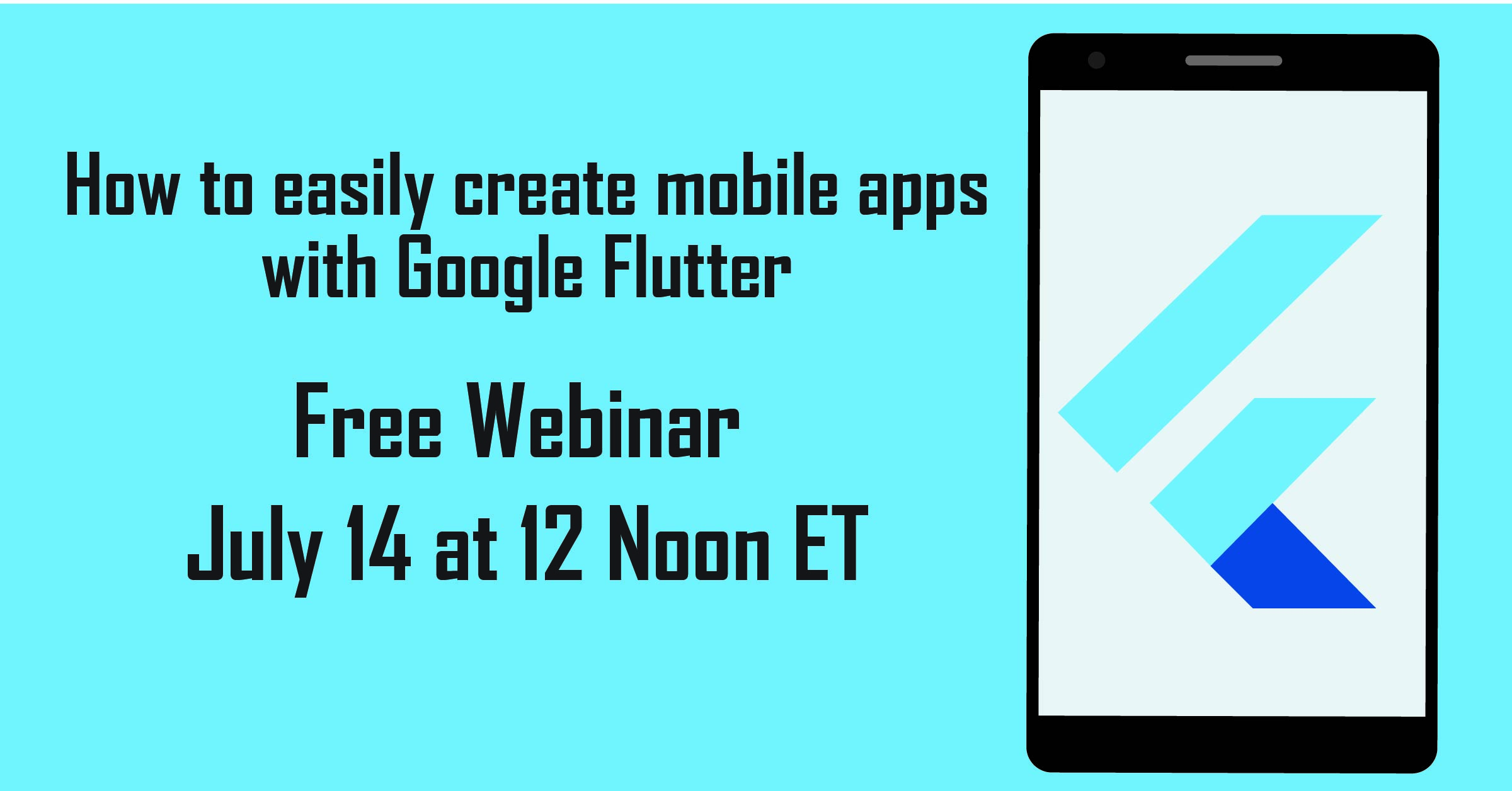 How to easily create mobile apps with Google Flutter Recording
