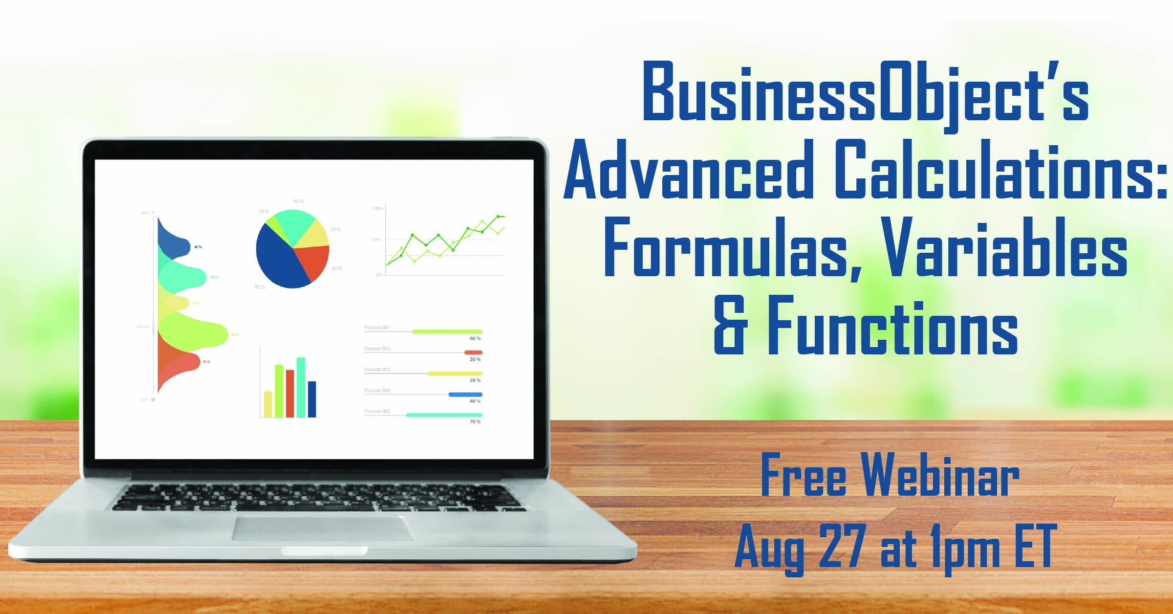 BO's Advanced Calculations: Formulas, Variables & Functions