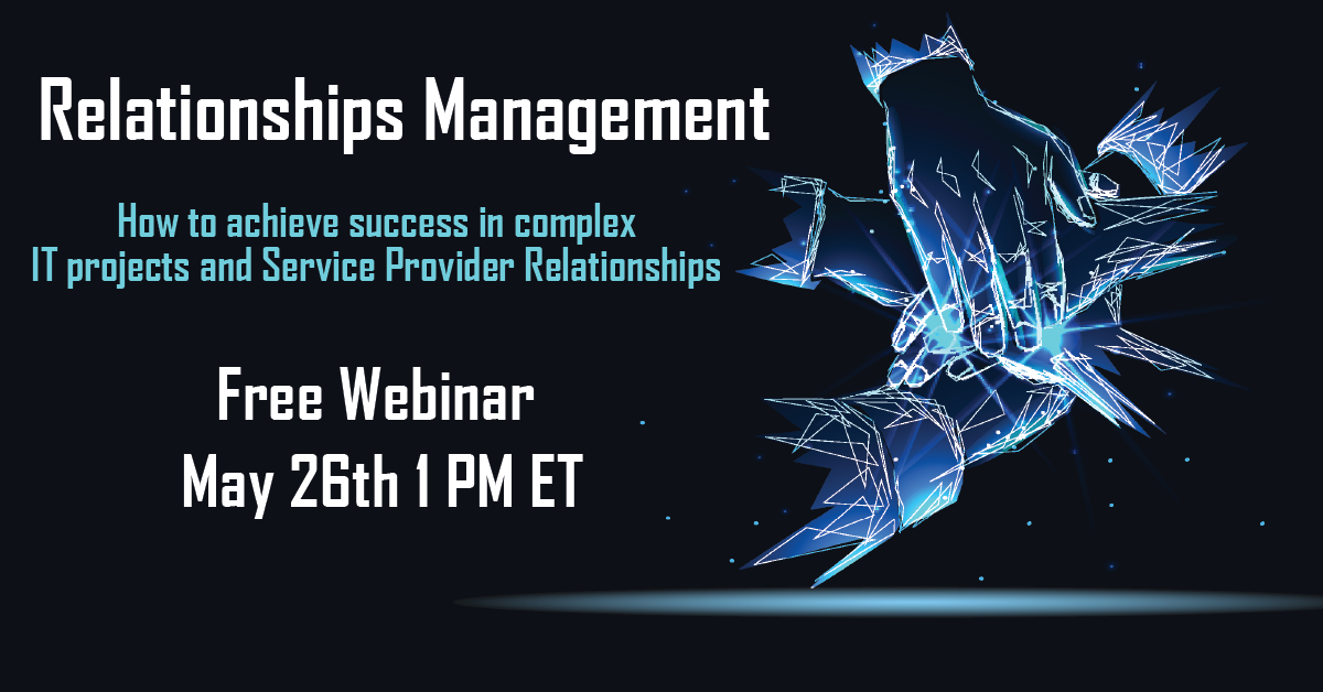 Relationships Management: How to achieve success in complex IT projects