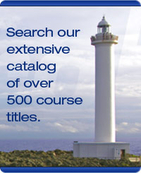 Search our catalog of over 500 course titles!
