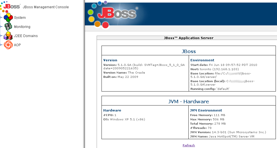 Jboss Admin Tutorial: JMX Administration